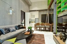 Showflat SOHO living